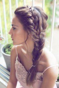 three strand side braid