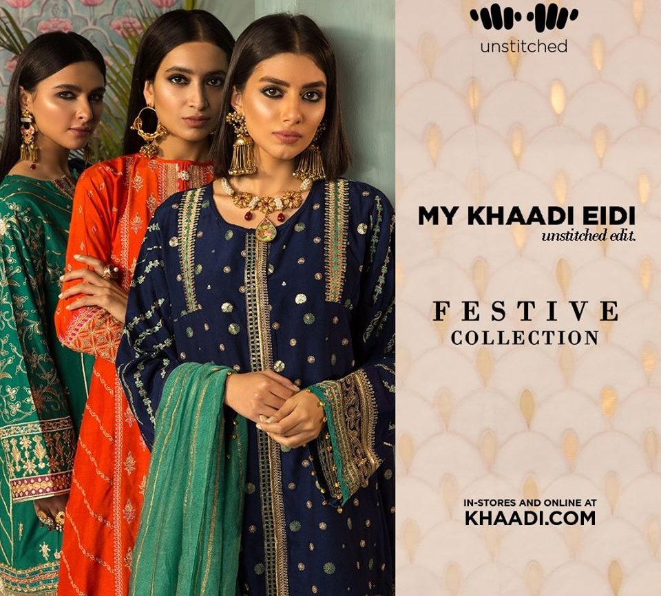Khaadi Eid Collection for females Online 2021