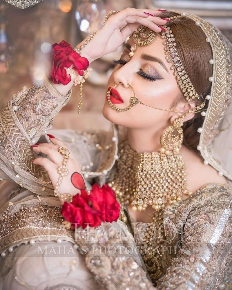 Pakistani Traditional Jewelry for Brides