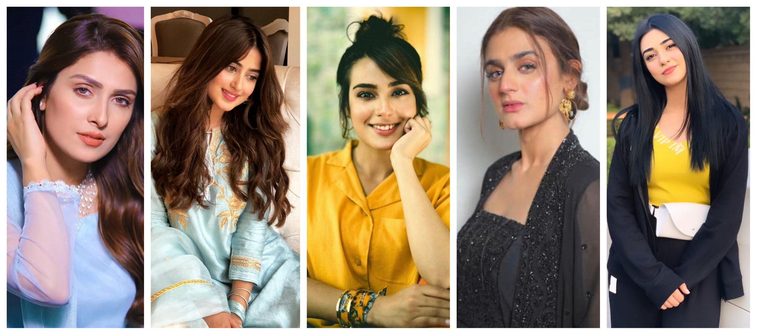 Top 10 Pakistani Actress in the Year 2021