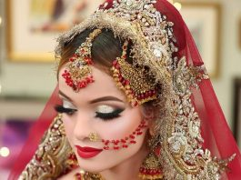 Pakistan Latest Bridal Makeup with Pictures 2020