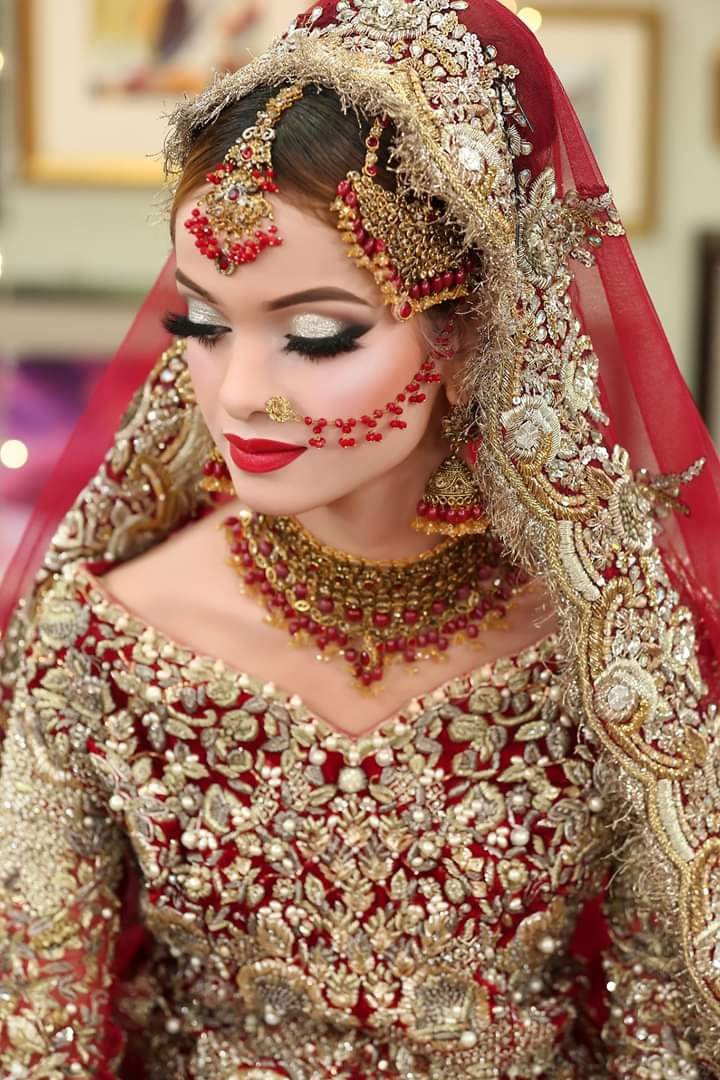 Latest Pakistani Bridal Makeup with Pictures 2021