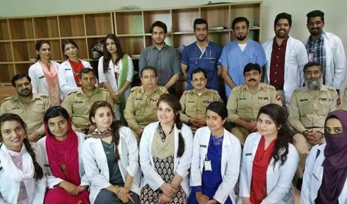Army doctor after FSC