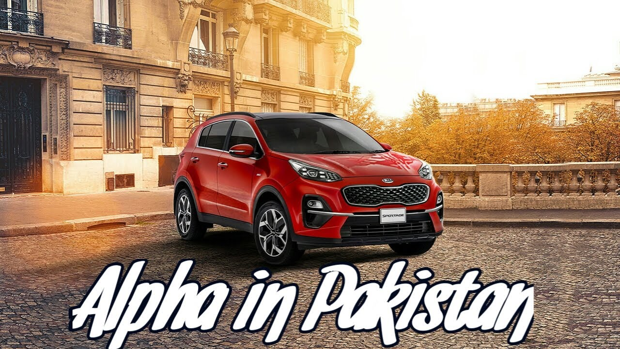 KIA Sportage Alpha Price, Specs and Features in Pakistan