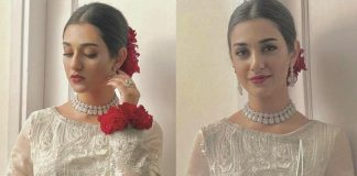 Pakistani Drama Actress Sarah Khan Walima Pictures 2020