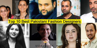Top 10 Best Pakistani Fashion Designers with Boutique