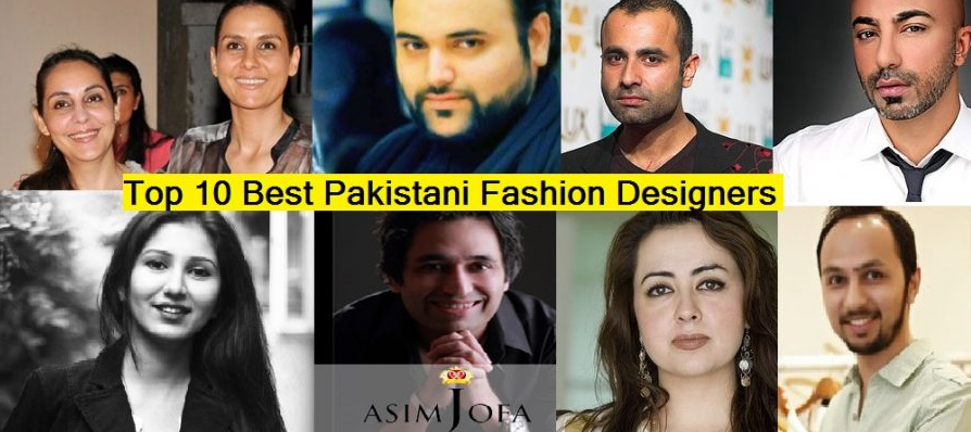 Top 10 Best Pakistani Fashion Designers with Boutique