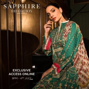 Sapphire New Collection for Eid 2021
