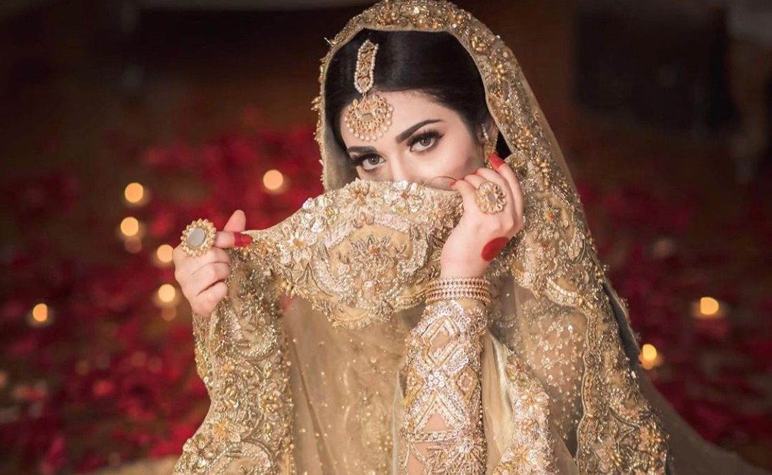 Pakistani Tv Drama Actress Sarah Khan Mehndi Pictures