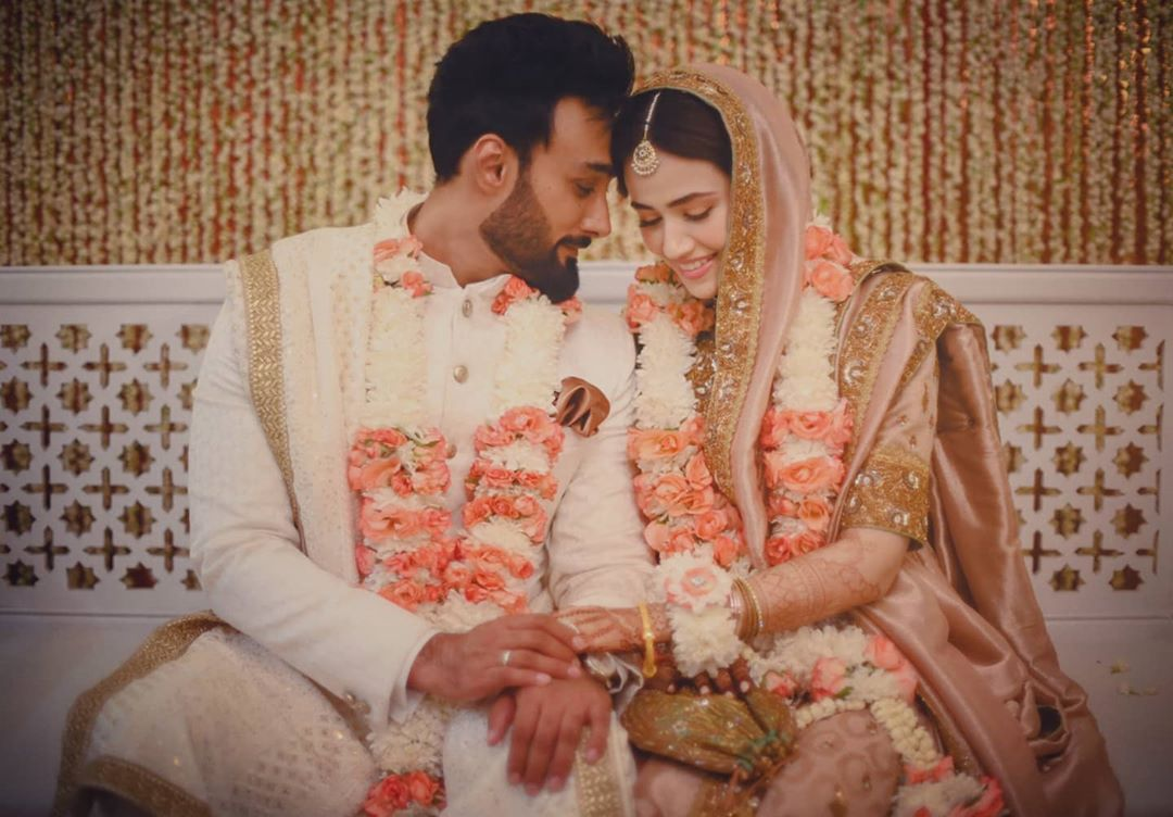 Sana Javed and Umair Jaswal wedding Pictures