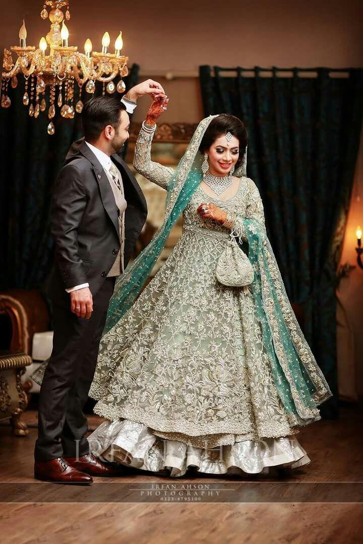 12 Stunning Pakistani Bridal Walima Dresses in 2021