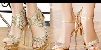 Chic and Stylish Bridal Shoes in Pakistan 2021