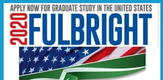 Fulbright Scholarship 2021 Pakistan Application formq