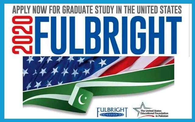 Fulbright Scholarship 2021 Pakistan Application formq