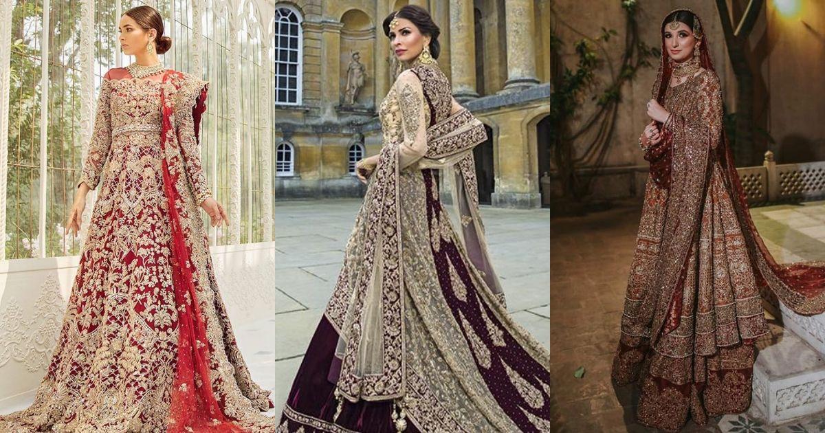 Top 21 Pakistani Wedding Dresses in 2021