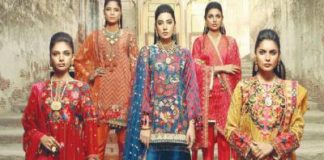 Unstitched Lawn Collection