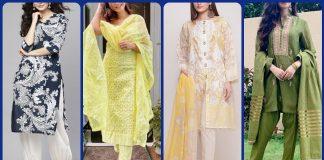 Beautiful Jacket Style Shalwar kameez designs in 2021