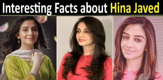Hina Javed Biography, Age, Education, Husband, Career