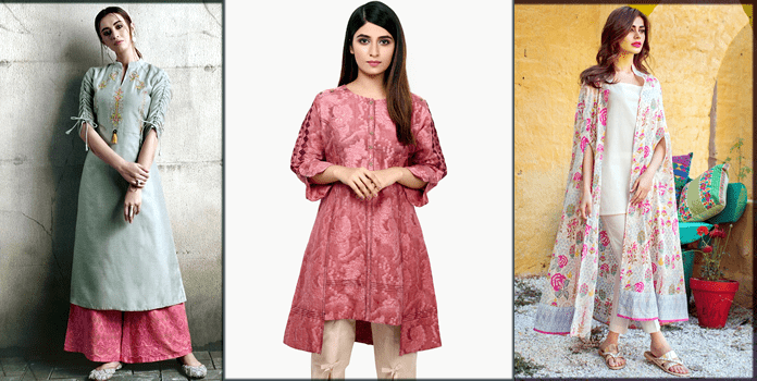 Lawn Suits Stitched Designs in Pakistan 2021