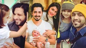 Pakistan Celebraties with Their Kids