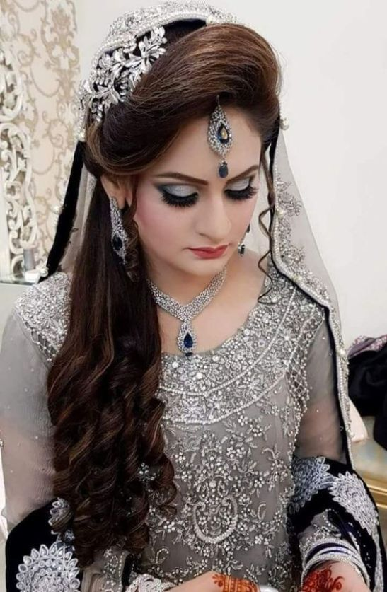 Pakistani Bridal Hairstyles for Barat in 2021